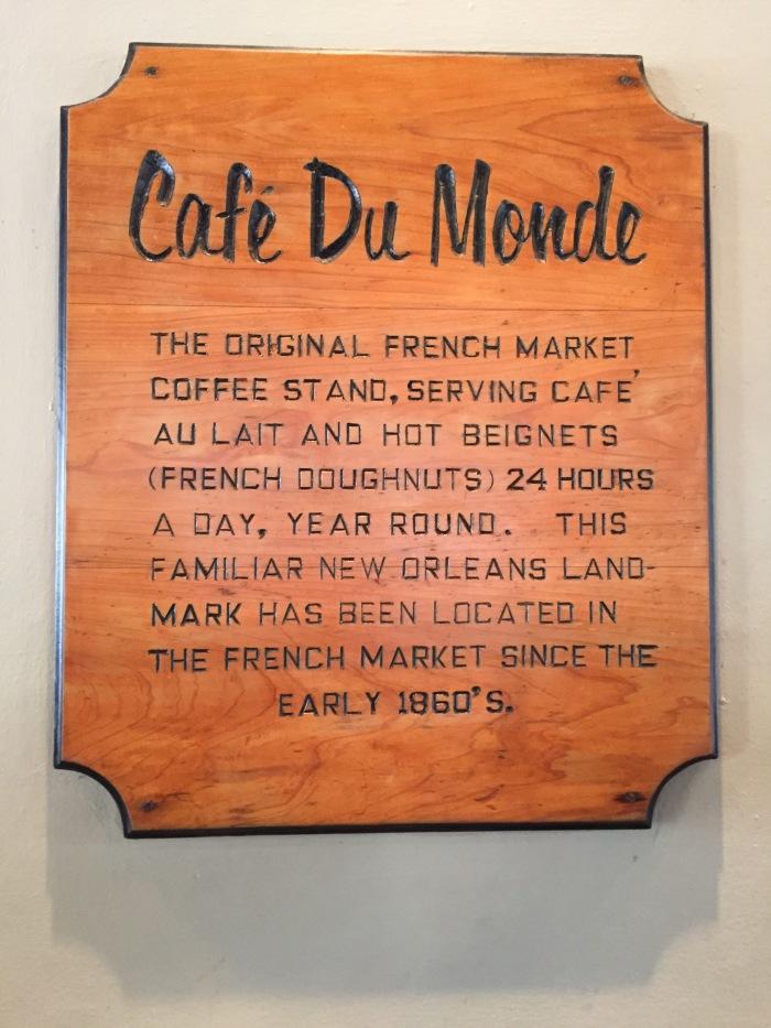 NOLA-Cafe Du Monde